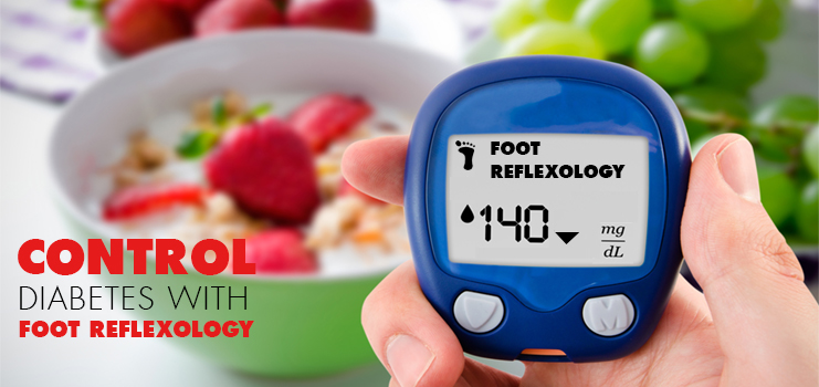 foot reflexology diabetes control